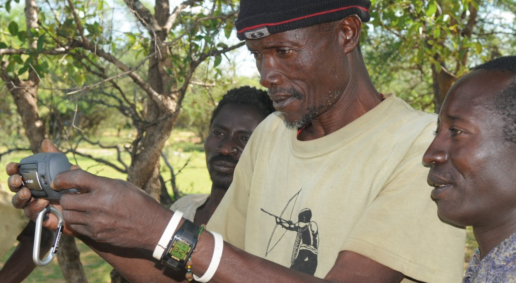 GPS Training for the Hadza