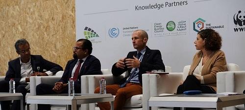 Dubai Solar show 2017 Panel discussion - Marc Baker Carbon Tanzania