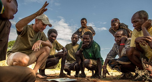 conservation with the Hadza