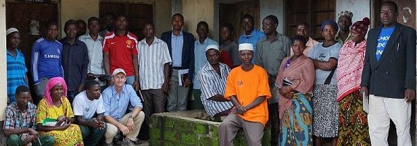 Tuungane village members - carbon tanzania