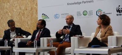 Dubai Solar show 2017 Panel discussion - Marc Baker Carbon Tanzania