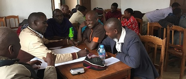 Training Carbon champions in Makame - Carbon Tanzania