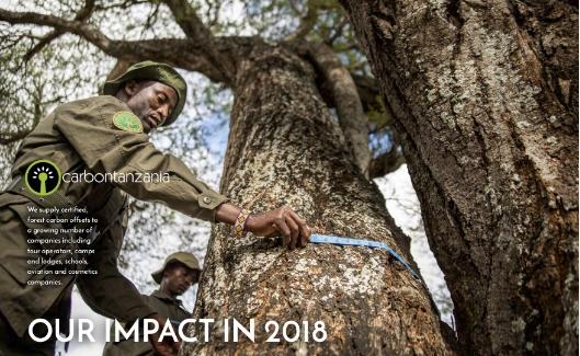 2018 AR interactive poster - Carbon Tanzania